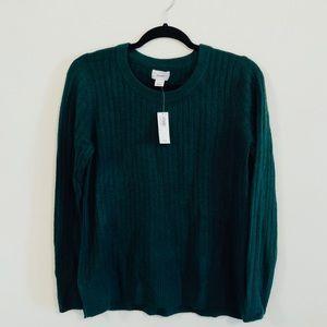 NEW OLD NAVY Dark Green sweater | Medium |